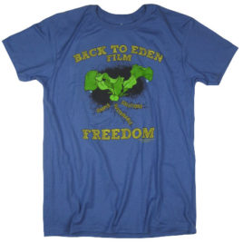 Back to Eden – Freedom Tee Denim 100% Cotton