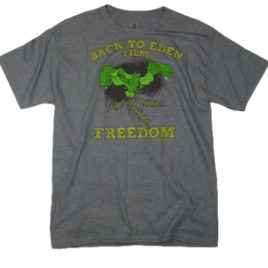 Back to Eden – Freedom Tee Oxford Gray EcoSmart