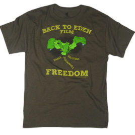 Back to Eden – Freedom Tee Heather Brown EcoSmart